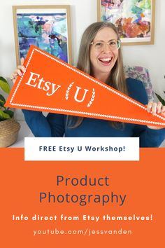Branding Workshop, Photography Workshops, Product Photography, Etsy Seo, Info Direct, Common Myths, Etsy Business, Handmade Shop, Improve Yourself