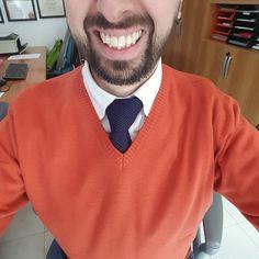 #buongiorno in #arancione e #blu