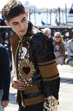 Backstage at the Dolce&Gabbana Spring Summer 2018 Campaign in Venice. Photo by… Beautiful Boys, Pretty Boys, Beautiful People, Beautiful Dresses, Dolce & Gabbana, After Movie, Hessa, British Boys, Actor Model