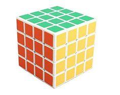 Sunnyhill Shengshou Plastic 4x4x4 Speed Cube White