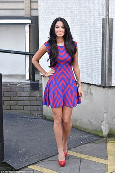 2989e26ab4 Making a statement  Tulisa Contostavlos was keen to remain the centre of  attention for her