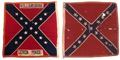 Left is the 8th and the right is the 10th Alabama-battle flags