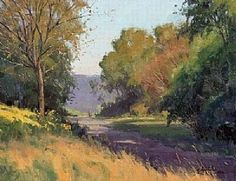Early September by Marc Hanson Oil ~ 16 x 20