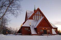 Церковь Кируны. Швеция