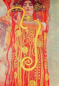 Gustav Klimt  'Medicine'