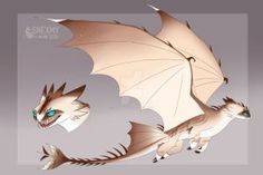 Custom Designer - Sand Wraith by SnexMy Httyd Dragons, Cute Dragons, Manga Dragon, Dragon Art, Mythical Creatures Art, Fantasy Creatures, Night Fury Dragon, Dragon Sketch, How To Train Dragon