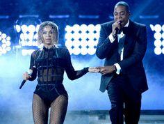 Beyoncé und Jay-Z: Funkensprühen auf den Grammys