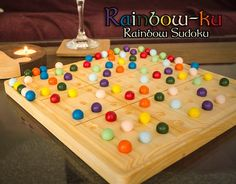 Rainbow Sudoku Set: 5 Steps (with Pictures) Escape Room Puzzles, Triangle Shelf, Puzzle Box, Social Art, A Level Art, Diy Games, Wood Working For Beginners, Wooden Crafts, Summer Kids
