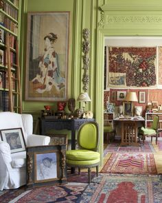 Jos and Annabel White's West Village Townhouse (The Neo-Trad)