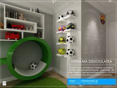Boys Soccer Bedroom, Boys Bedroom Decor, Bedroom Themes, Boy Room, Girls Bedroom, Soccer Room Decor, Bedroom Ideas, Football Rooms, Football Bedroom