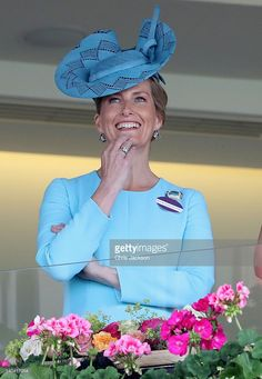 Sophie, Countess of Wessex attends the second day of Royal Ascot at Ascot Racecourse  on June 15, 2016 in Ascot, England.  (Photo by Chris Jackson/Getty Images)
