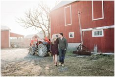 Sarnia Engagement Photographer, Brittany VanRuymbeke, shares Sam & Sacha's recent fun engagement session held on a rustic family farm. Engagement Photography, Engagement Session, Chatham Kent, Couple Posing, Poses, Rustic, Couples, Country Primitive, Rustic Feel