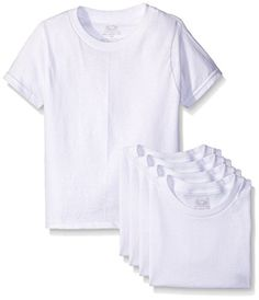Fruit of the Loom Little Boys Crew Tee FivePack Pack of 5 -- Click image for more details. (Note:Amazon affiliate link)