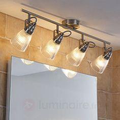 Attractive bathroom wall light Kara with LED, Bathroom Ceiling, Led Light Bulb, Led Ceiling Lights, Bathroom Wall Lights, Bathroom Ceiling Light, Led, Bathroom Wall, Ceiling Lights, Lights