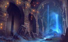 Cistern by wwsketch.deviantart.com on @DeviantArt