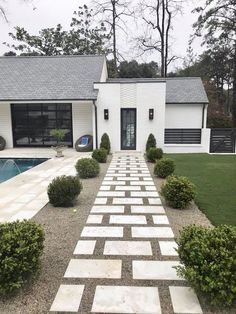 Elegant Backyard Patio Design Ideas For Your Garden For many people patios are the place to chat and spend time, but now it is time to realize its […] Small Backyard Landscaping, Backyard Patio, Landscaping Ideas, Outdoor Walkway, Backyard Ideas, Modern Landscaping, Pergola Ideas, Pavers Patio, Patio Stone