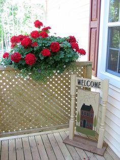 Red Geranium Garden Club