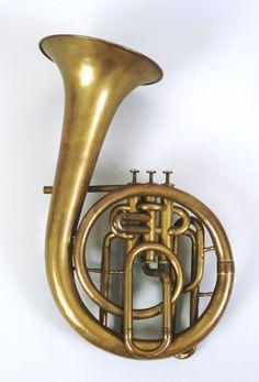 Baritone saxhorn in B♭(Besançon, 1855-65)