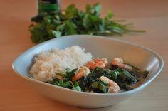 Curry z krewetkami w 15 minut
