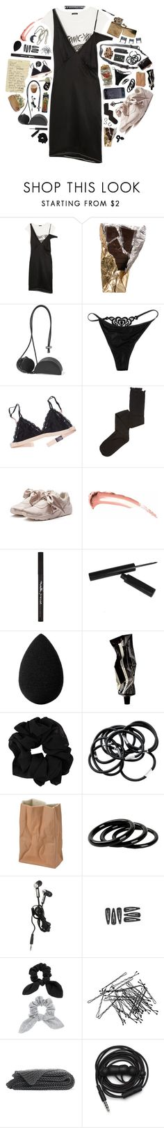 """""""carrousel"""" by cnellepoms ❤ liked on Polyvore featuring R13, DSPTCH, Building Block, The Little Bra Company, Intimately Free People, Puma, Maybelline, beautyblender, Aesop and H&M"""