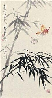 Butterflies and Bamboo By Liu Lishang, Yu Zhizhen