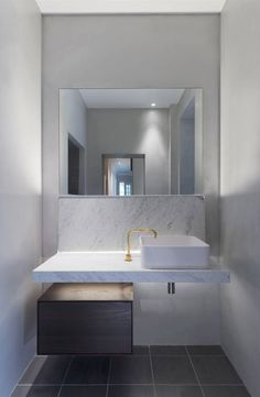sink across window with another colour cupboard under it Boffi kitchens – bathrooms - systems