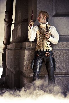 This guy is so cool I must steal his concept and use it for some story somewhere. via Balthier Cosplay. This guys cosplay is amazing! I do wanna be a game designer, may have to contact him one day and ask to use his costume in a game! :D