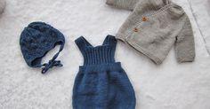 Håpar dei som får romparane er like glad i romper. Baby Knitting Patterns, Little Ones, Winter Hats, Baby Boy, Rompers, Children, Fashion, Dots, Breien