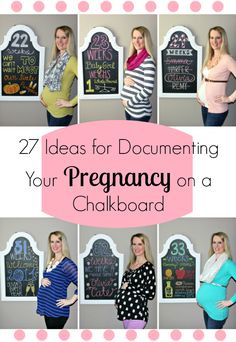 Lindsay's Sweet World: Week by week design ideas to document your entire pregnancy on a chalkboard Pregnancy Announcement, Pregnancy Trimesters Pregnancy Signs, Pregnancy Months, Pregnancy Humor, My Pregnancy, Documenting Pregnancy, Pregnancy Outfits, Baby Bump Chalkboard, Weekly Pregnancy Chalkboard, Chalkboard Signs