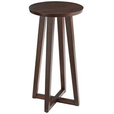Marlow Pedestal Table - Mahogany Brown | Pier 1 Imports
