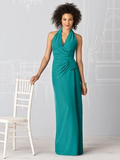Long gown option. Jade