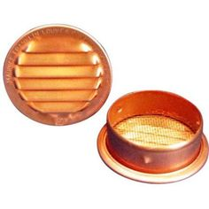 1.5 inch Copper Screened Vents