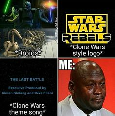 Man I miss the Clone Wars