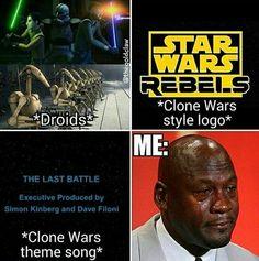 Man I miss the Clone Wars