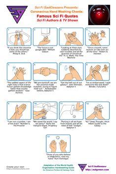 Coronavirus Sci Fi Hand Wash Chants - Sci Fi SadGeezers