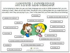 Active+listening+is+when+you+use+your+body+language+and+words+to+SHOW+someone+that+you+are+listening+to+them.++When+we+actively+listen,+the+person+who+is+talking+feels+like+you+understand+and+care+about+what+they+are+saying+to+you.++