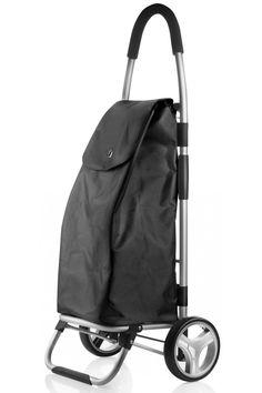 Černá skládací nákupní taška na kolečkách nejen pro seniory Agua Mineral, Baby Strollers, Indigo, Blues, Children, Minerals, Baby Prams, Young Children, Boys