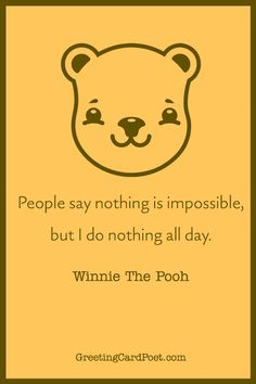 Winnie the Pooh Jokes, Quotes, and Captions. #quotes #jokes #pooh #winniethepooh National Celebration Days, Christopher Robin Milne, Send Birthday Card, Kenny Loggins, Disney Movies, Disney Characters, Pooh Bear, Jokes Quotes, A Christmas Story