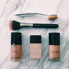 """My favorite foundations #mysecrets"" Photo taken by @ashleytisdale on Instagram, pinned via the InstaPin iOS App! http://www.instapinapp.com (09/24/2015)"