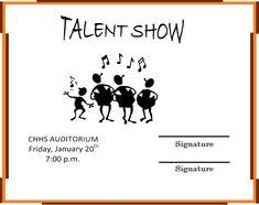 Talent Show Certificate Template Beautiful 13 Talent Show Certificate Templates