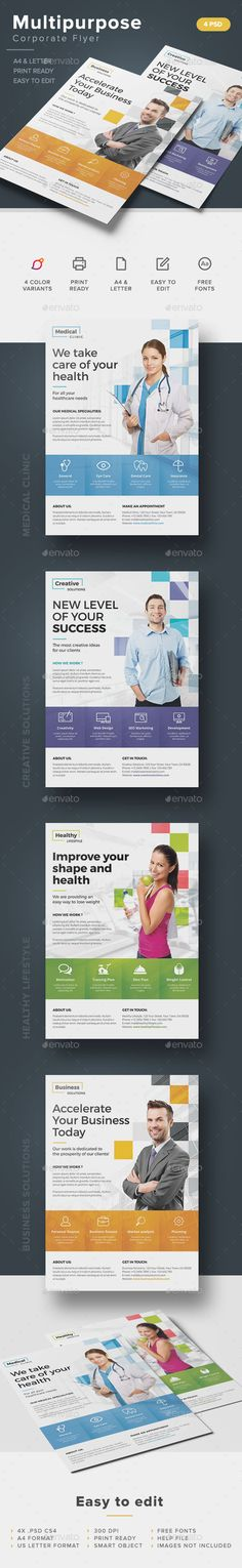 Business Essentials Corporate Flyer Business essentials, Flyer - corporate flyer template