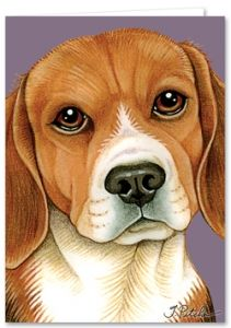 Beagle Greeting Card Beagle Gifts Beagle Cute Beagles
