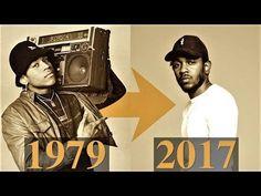 The Evolution Of Hip-Hop [Timeline 1979 - 2017] - YouTube