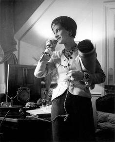Coco Chanel by François Kollar, 1937