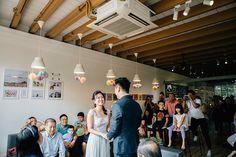 Unique wedding venues in Singapore - Cat Cafe // Wei Jie + Katheryn's Purrfect Wedding at Cat Cafe Neko no Niwa