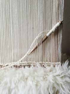 Maryanne Moodie · Woven Tapestries - The Design Files Weaving Textiles, Textile Fabrics, Weaving Art, Tapestry Weaving, Loom Weaving, Textile Art, Hand Weaving, Weaving Tools, Weaving Projects