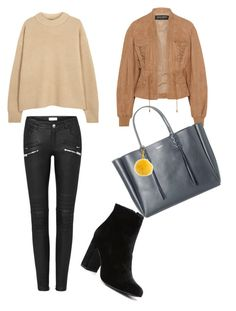 """Fall season is coming!"" by amandaberger on Polyvore featuring The Row, Balmain, Witchery, Lanvin and Fendi"