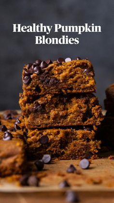 Gluten Free Desserts, Dairy Free Recipes, Healthy Desserts, Just Desserts, Oat Flour Recipes, Baking Recipes, Pumpkin Recipes, Fall Recipes, Healthy Pumpkin