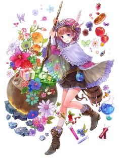Rorolina Frixell - Characters & Art - Atelier Rorona: The Alchemist of Arland