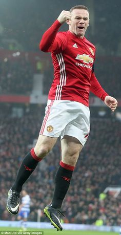 Wayne Rooney was recalled to the starting XI for the FA Cup third round tie Manchester Day, Manchester United Players, Messi, Man Utd Fc, Bobby Charlton, Premier League Champions, Wayne Rooney, Most Popular Sports, Man United